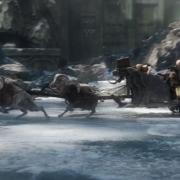 El carro de los Enanos en el hielo