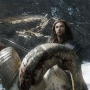 Kili, Dwalin y Fili en carneros