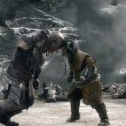 Bifur y el Orco enganchados