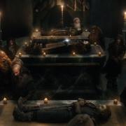 El descanso último de Thorin, Fili y Kili