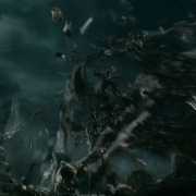 Galadriel destruye al carcelero de Gandalf