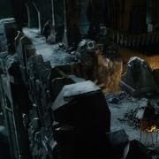 Bilbo prepara su huida de Erebor