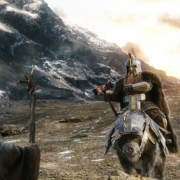 Gandalf trata de hacer entrar en razón a Dáin