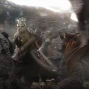 Los Elfos se enfrentan a los Orcos