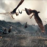 Las Águilas luchan con los murciélagos