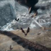 Radagast llega con las Águilas