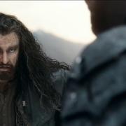 Thorin y Azog en la Colina del Cuervo
