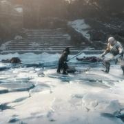 Thorin y Azog en su duelo final