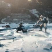 Thorin y Azog en su combate final