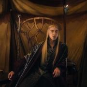 Thranduil y Gandalf dialogan