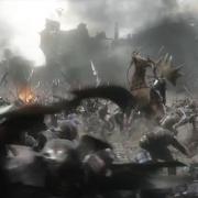 Thranduil en plena batalla