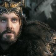 Thorin ve llegar a los Orcos