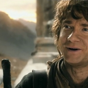 Bilbo se despide de los Enanos