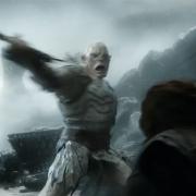 Duelo épico entre Azog y Thorin