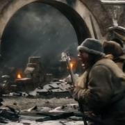 Los Hombres y los Orcos luchan en Valle