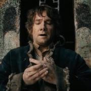 Bilbo se pone el Anillo Único
