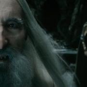 Saruman, Elrond, Gandalf y Galadriel