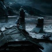 Bilbo escapa de Erebor