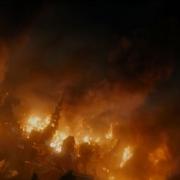 La Ciudad del Lago en llamas