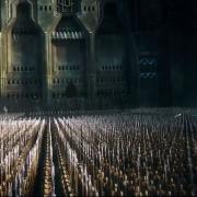 El ejército élfico sitia Erebor