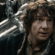 Bilbo adquiere su coraje en plena batalla