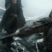 Thorin se enfrenta a Azog