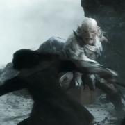 Thorin se enfrenta a Azog el Profanador