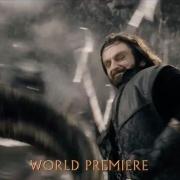 Thorin montado en un carnero