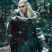 Thranduil luchando al frente de su ejército
