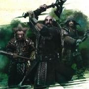 Nori, Dwalin y Bofur en acción