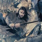 Kili luchando con los Orcos