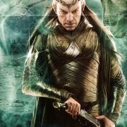 Elrond con su armadura dorada