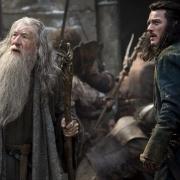 Gandalf y Bardo en Valle