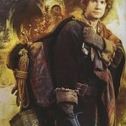 Bilbo preparado para el viaje de vuelta