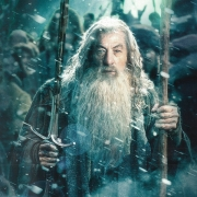Gandalf listo para la batalla