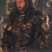 Thorin en la armería real de Erebor