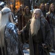 Thranduil y Gandalf