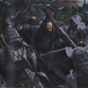 Bardo lucha con los Orcos