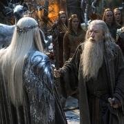 Thranduil y Gandalf se reúnen en Valle