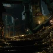 Thorin contempla el tesoro de Erebor