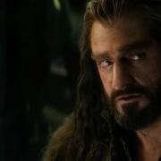 Thorin afectado por el mal del dragón