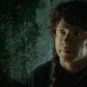 Bilbo habla con alguien en Erebor
