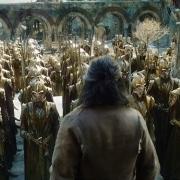 El ejército élfico ante Bardo