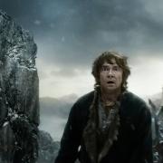 Bilbo aterrorizado al ver a Bolgo