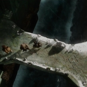 Fili, Kili, Óin y Bofur llegan al fin a Erebor