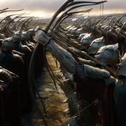 Los arqueros élficos preparados