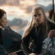 Tauriel y Legolas meditan