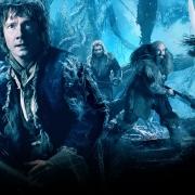 Banner de Bilbo y los Enanos en el Bosque Negro