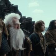 Bilbo y los Enanos de camino a la Montaña Solitaria