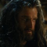 Thorin ante el Rey Elfo